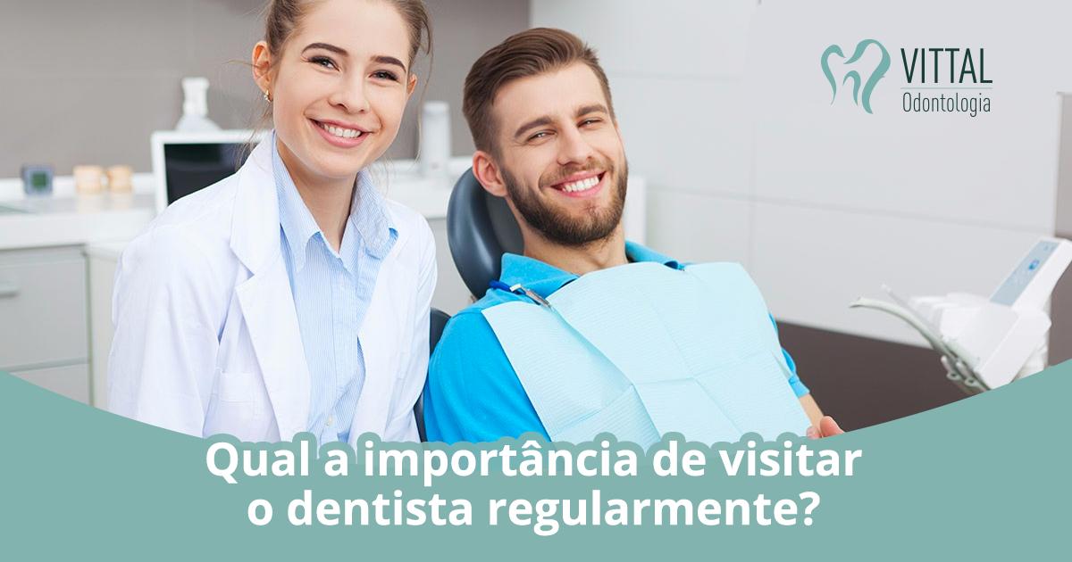 Paciente e dentista | Qual a importância de visitar o dentista regularmente?