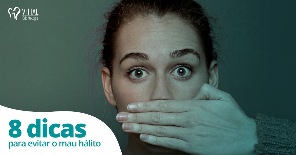 Vittal | 8 dicas para evitar o mal hálito